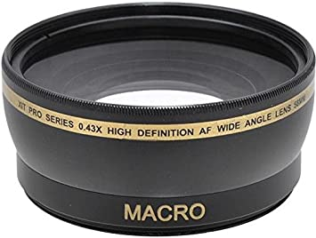 58mm Lens Filter Accessory Kit for Canon EOS Rebel T8i T7i T7 T6i T6s T5i T4i T3i T2i T1i SL2 SL1 T5 T3 XS 18-55mm