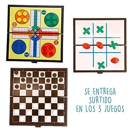 Lote De 20 Juegos Magneticos Parchis Damas Y Tres En Raya Juegos