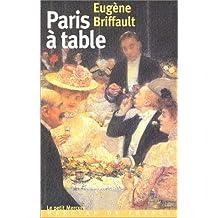 PARIS À TABLE