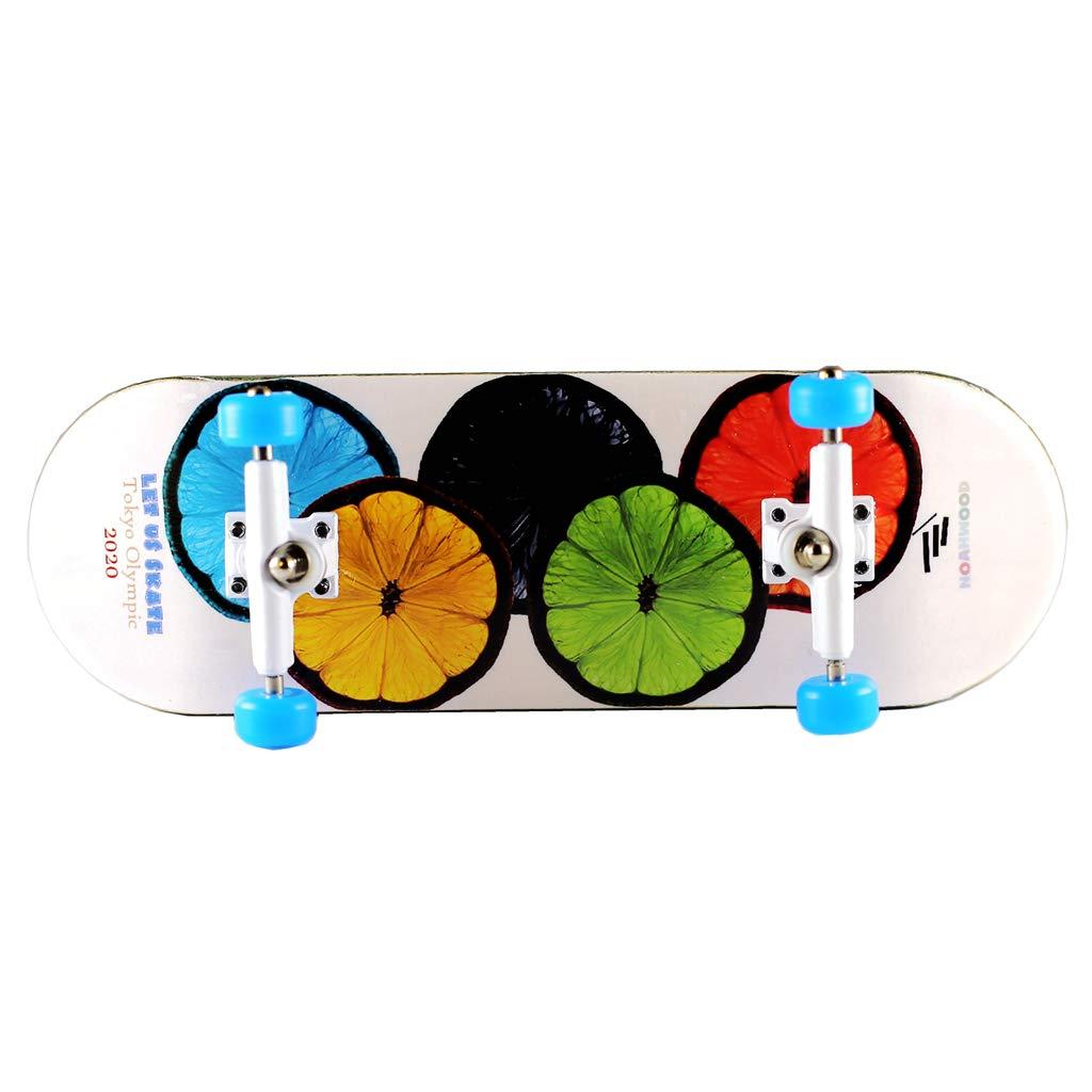 NOAHWOOD Wooden PRO Fingerboards (Deck,Truck,Wheel / a Set) (2020 Olympic)