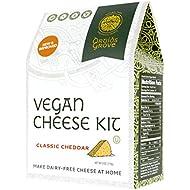 Druids Grove Vegan Cheddar Kit (Nondairy Cheese) ☮ Vegan ⊘ Non-GMO ❤ Gluten-Free ✡ OU Kosher Certified