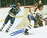 Gary Unger St. Louis Blues Signed Autographed Action 8x10 Photo W/coa - Autographed NHL Photos