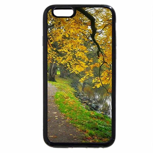 iPhone 6S / iPhone 6 Case (Black) Autumn lake.