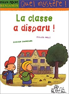 """Afficher """"La classe a disparu !"""""""