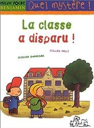 La classe a disparu !