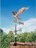 Whitehall Products Copper Eagle Weathervane, Polished