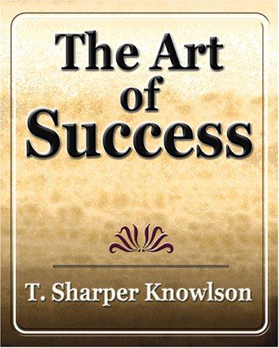 Art of Success pdf