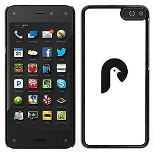Caucho caso de Shell duro de la cubierta de accesorios de protección BY RAYDREAMMM - Amazon Fire Phone - Cabeza Palomas