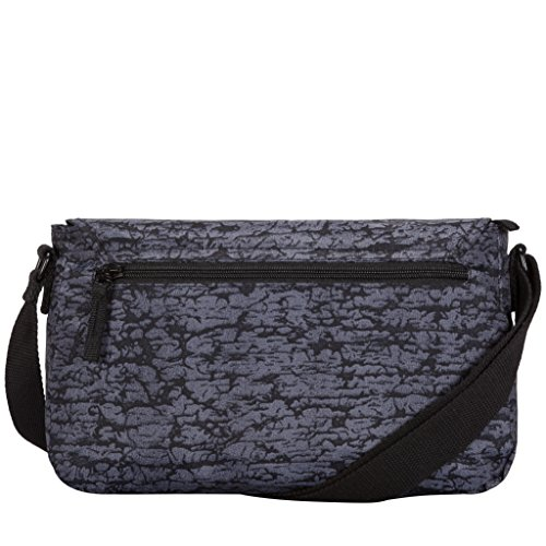 X Artsac 310x220x120 w Cm H Mano black Unisex Satchel Style Adulto Reef De Flapover Negro L Bolsos Fabric xxr6wqZf7