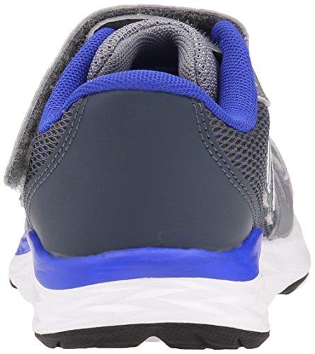 New Balance kv790V6Pre Zapatilla de Running (Little Kid) Gris/Azul