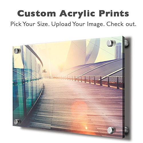 - wall26 Personalized Photo to Acrylic Print Wall Art - Custom Your Photo On Acrylic Wall Art - Digitally Printed 16x24