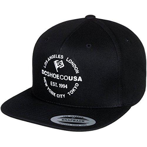 DC Men's Starlighter Snapback Trucker Hat, Black, 1SZ - Dc Mens Baseball Hat