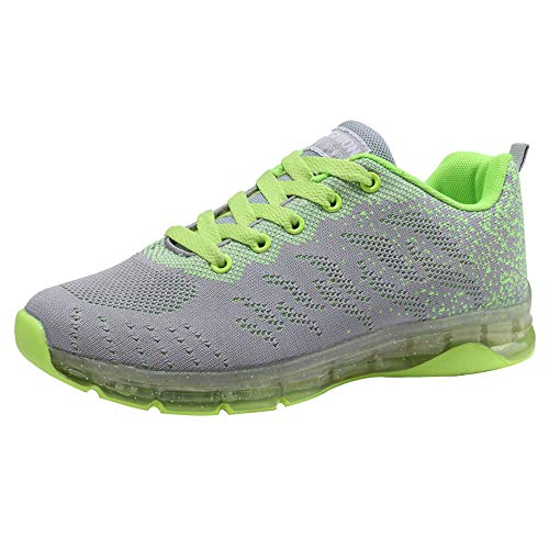 41 Student Running Net 35 Shoes Woven Air Women Sneakers Shoes JERFER Green Sport Shoes Flying Cushion H0Bp70C4