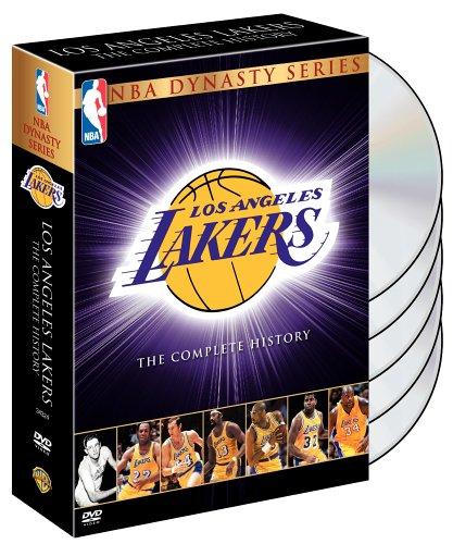 NBA Dynasty Series: Los Angeles Lakers - The Complete History by Warner Manufacturing