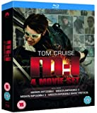 Mission Impossible: Quadrilogy (1-2-3-4 Box Set) [Blu-ray] (Region Free)
