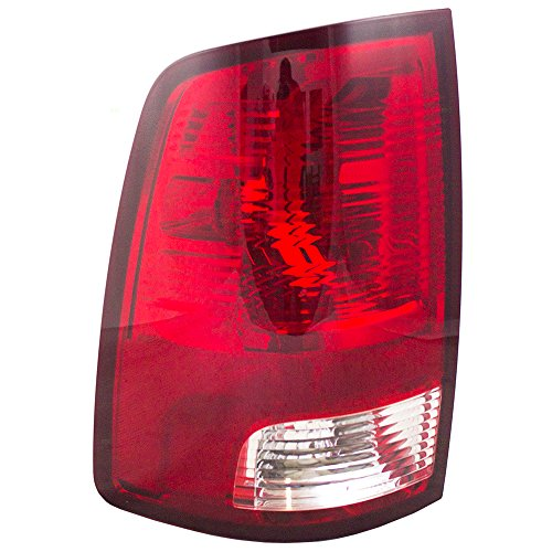 Drivers Taillight Tail Lamp Lens Replacement for Dodge Pickup Truck 55277415AC