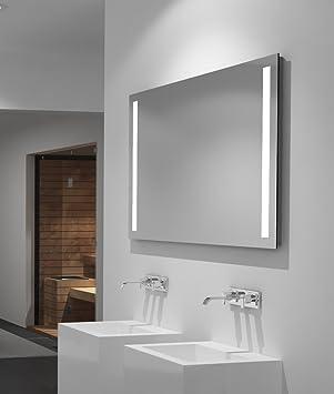 LED-Spiegel Talos Light– Warmweiß beleuchteter Spiegel für das ...