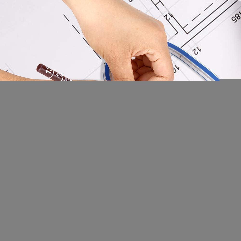 30cm Alinory Outil de Mesure de r/ègle de Courbe Flexible pour Dessiner des Graphiques et des v/êtements