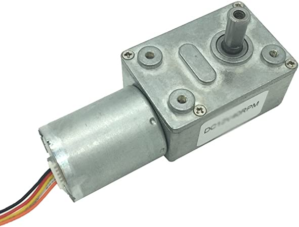 DC Gear Motor Gear Reduction Motor for Office Equipment 6RPM 12V
