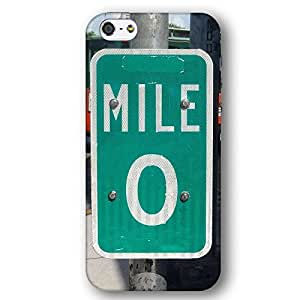 Key West Florida Route 1 One Mile 0 Zero For Ipod Touch 4 Case Cover lim Phone Case