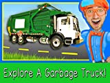 Explore A Garbage Truck with Blippi - Garbage Trucks for Children