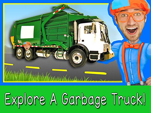 Explore A Garbage Truck with Blippi - Garbage Trucks for Children]()