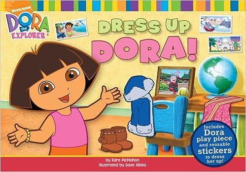 Dress Up Dora! (Dora the Explorer (Simon & Schuster Board