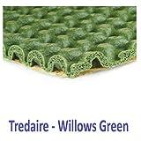 Tredaire - Willow Green - 8.4mm - Carpet Underay - 15.07sqm
