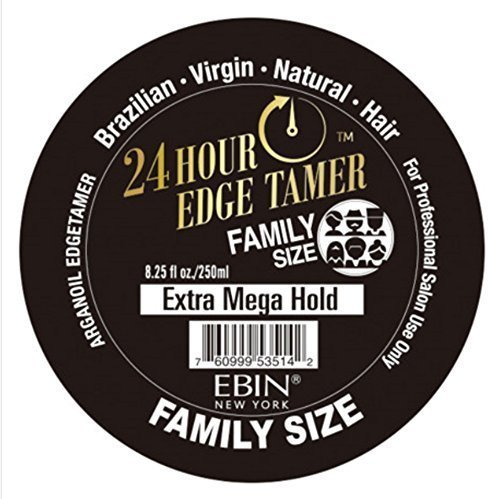 - Ebin 24 Hour Edge Tamer Extra Mega Hold 8.25oz - Family Size