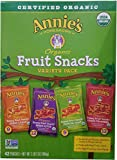 Annie's Homegrown Organic Vegan Fruit Snacks Variety Pack, 42 Count, 2LBS 2OZ (946G)