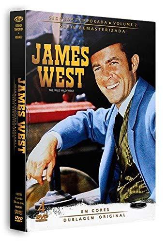 Dvd James West - 2 Temporada Vol.2