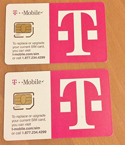 T-Mobile Micro Sim Starter Kit With $30 Initial Value With Activation Code