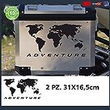 2Pegatinas Globo para BMW R 120011501100GS Adventure casos R GS Adv