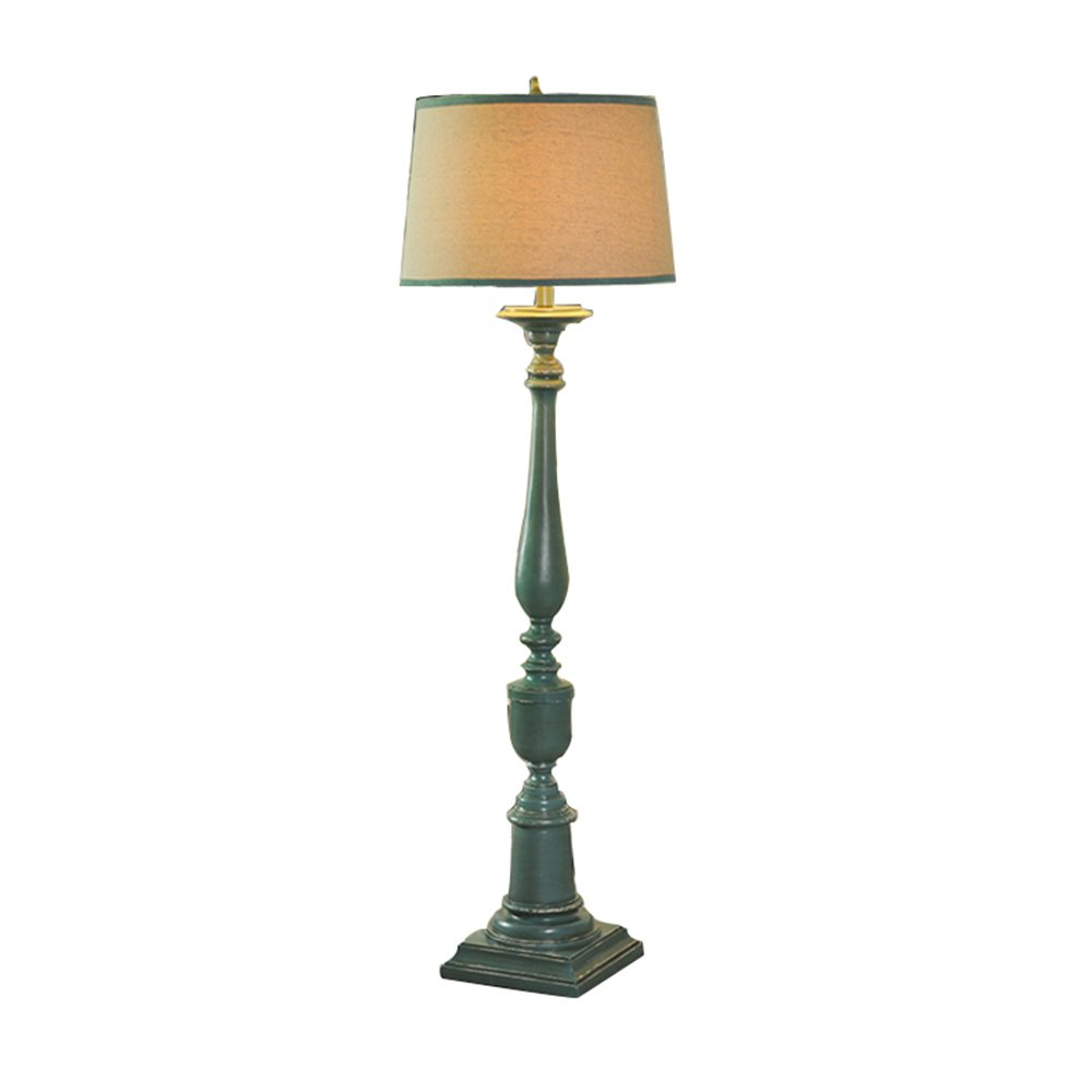 BODENLEUCHTE, Nordisch - amerikanischen Stil Luxus - mediterranen grünen Harz in Südostasien Stehlampe Wohnzimmer Büro Schlafzimmer Stehlampe Wirkungsgrad: A +++