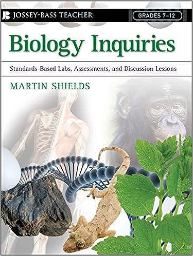 Amazon com: Biology Inquiries: Standards-Based Labs