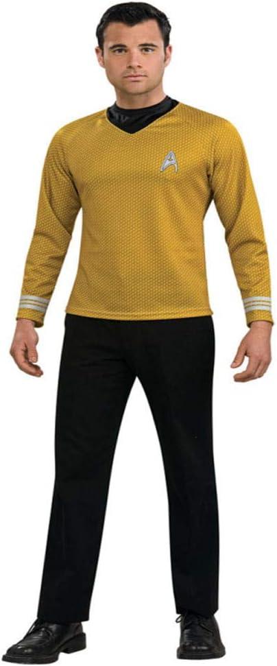 Horror-Shop Star Trek Capitán Kirk Sr. traje XL XL: Amazon.es ...
