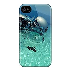 New Cute Funny 3d Water Statue Cases Covers/ Iphone 6 Cases Covers