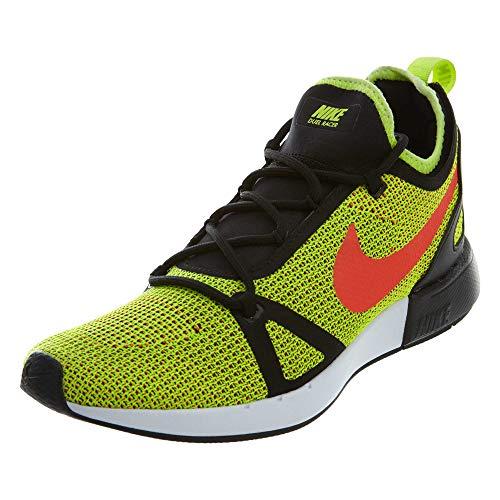 Nike Men Duel Racer, Volt/Bright Crimson-Black VOLT/BRIGHT CRIMSON-BLACK