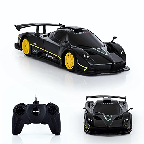 - Spire Tech ST-232 RC Car Pagani Zonda R Remote Electric Radio Controlled Toy, Black, 1:24 Scale