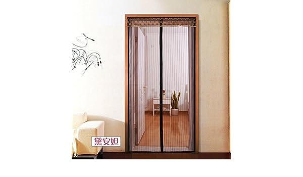 Mosquitera Magnético de la malla puerta del velcro Marco completo velcro Malla mosquitera-A 85x200cm(33x79inch): Amazon.es: Bricolaje y herramientas