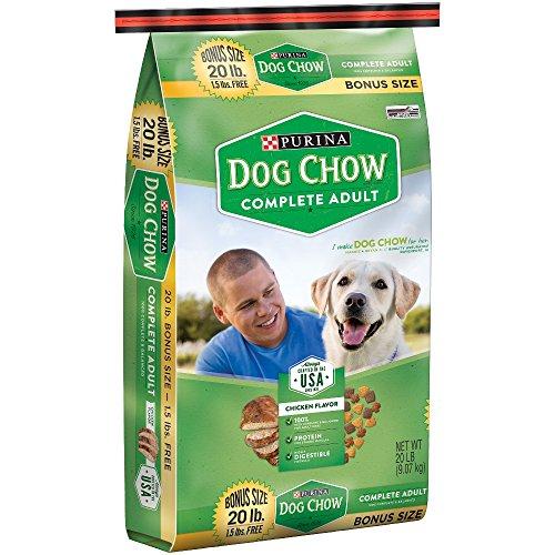 Purina Dog Chow Complete Adult Dog Food (20 lb. Bag) For Sale