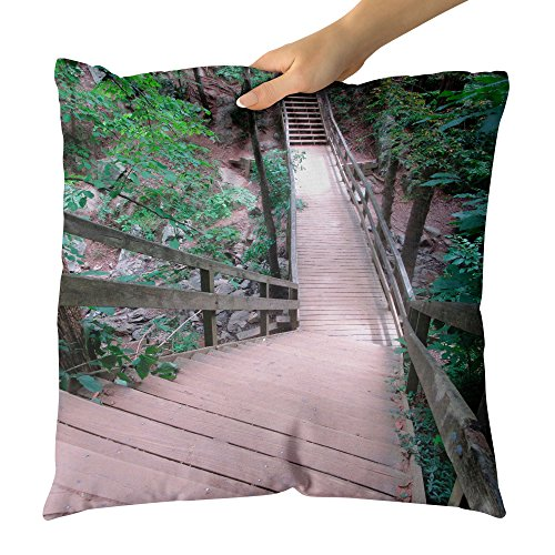 aper Outdoor - Decorative Throw Pillow Cushion - Picture Photography Artwork Home Decor Living Room - 18x18 Inch (CF651) ()