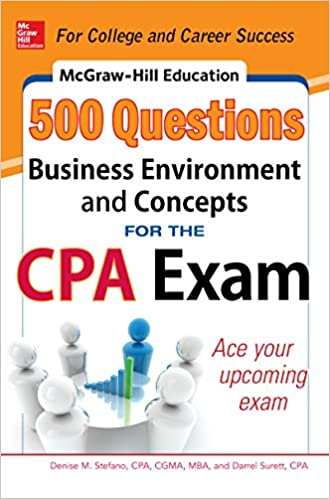 Amazon mcgraw hill education 500 business environment and amazon mcgraw hill education 500 business environment and concepts questions for the cpa exam mcgraw hills 500 questions ebook denise m stefano fandeluxe Choice Image