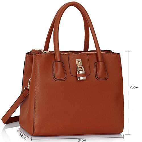 Bag CWS00195A Quality Desinger Hotselling Bags Fashion Trendy Handbags Size Tote Women's Large Brown Ladies Shopper xOq7wC