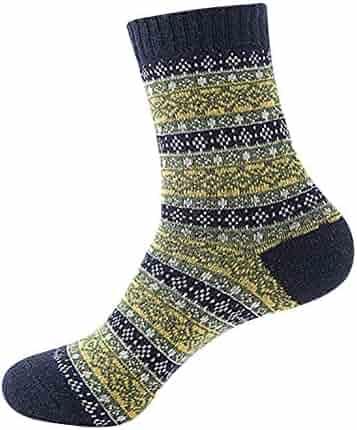 17a25f9543a Wool Thermal Men Socks Fits 5-8.5 Winter Outdoor Socks Ultra Warm Thick  Boot Socks