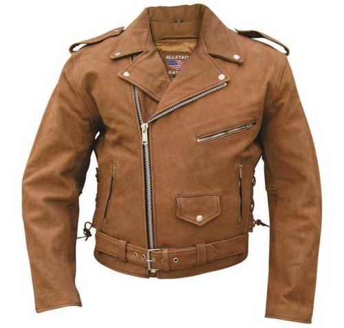 Motorcycle Jacket Brown - 5