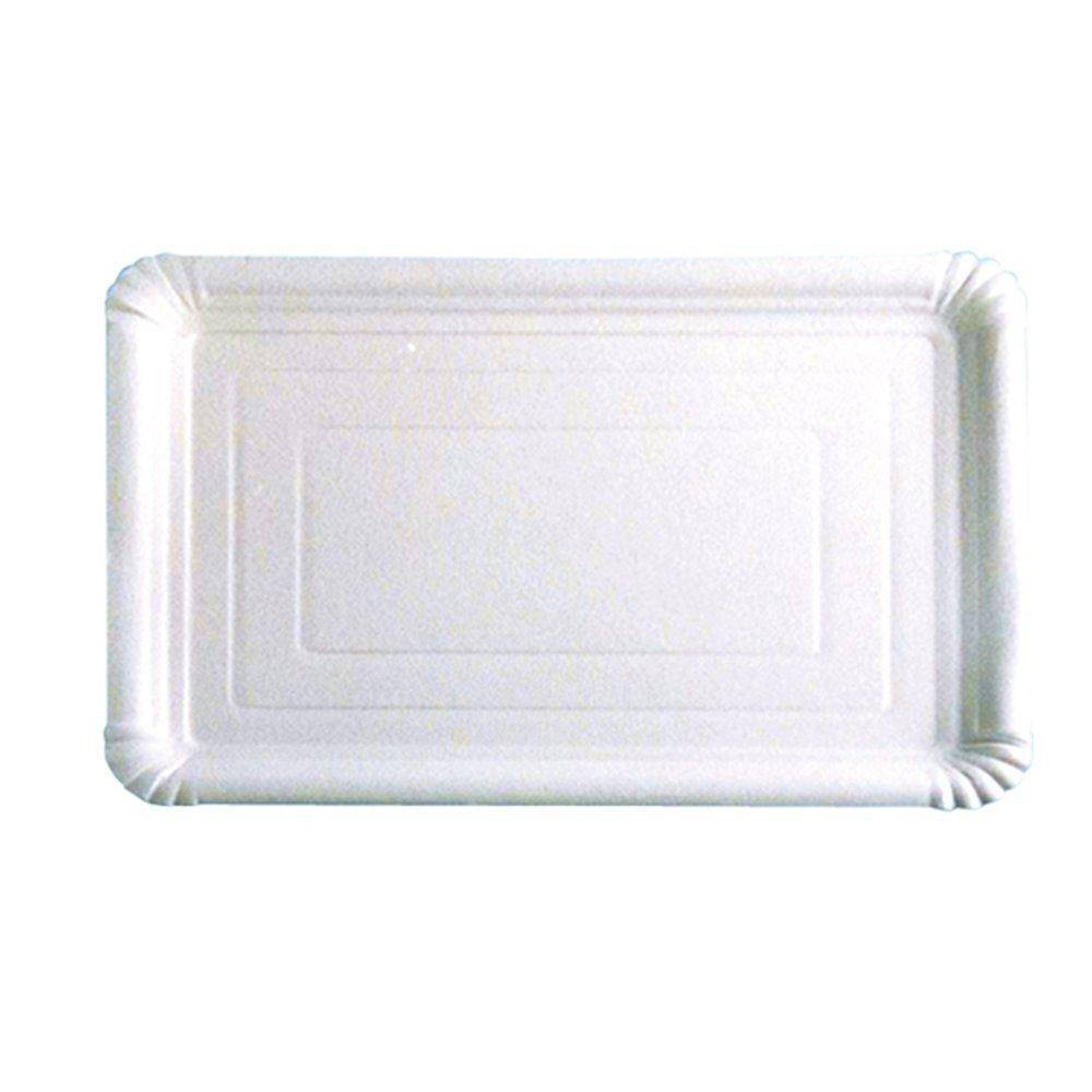 García de Pou Bandejas Pastelería Medianas, 33 x 23 cm, Set de 25, Blanco, cartón, 30 x 30 x 30 cm: Amazon.es: Hogar