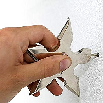 Amazon.com: Sala-Fnt - Perchero de pared con diseño de ...