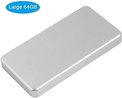 Zerone Mini SSD Externo, 10 mm Ultra Delgado USB 3.0 Msata sólido ...