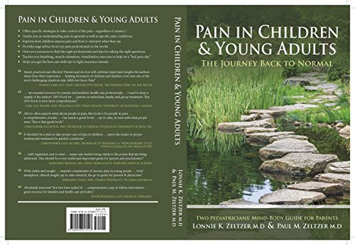 Pain in Children and Young Adults: The Journey Back to Normal (To Less Pain)